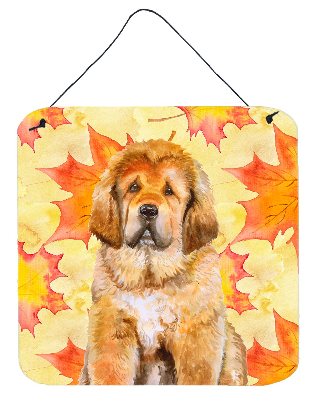 Tibetan Mastiff Fall Wall or Door Hanging Prints BB9982DS66 by Caroline's Treasures