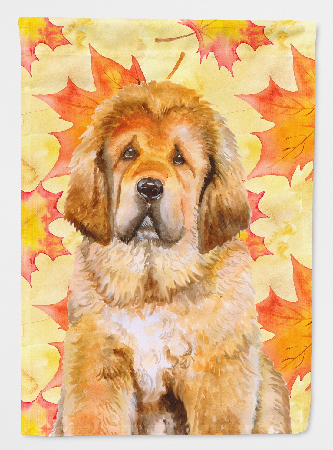 Tibetan Mastiff Fall Flag Garden Size BB9982GF by Caroline's Treasures