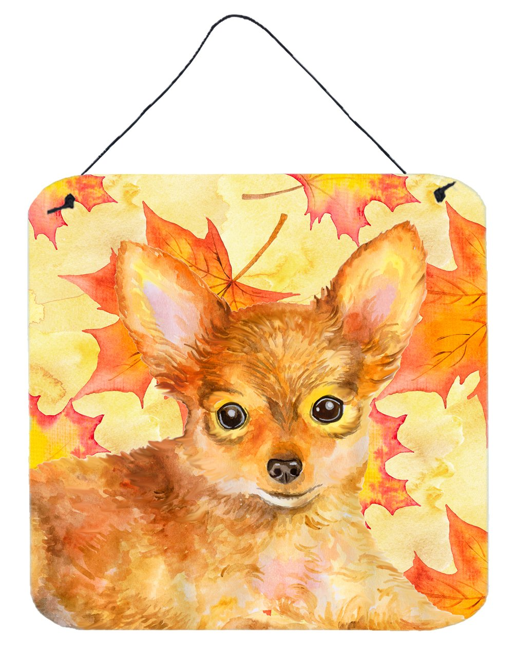 Buy this Toy Terrier Fall Wall or Door Hanging Prints BB9983DS66