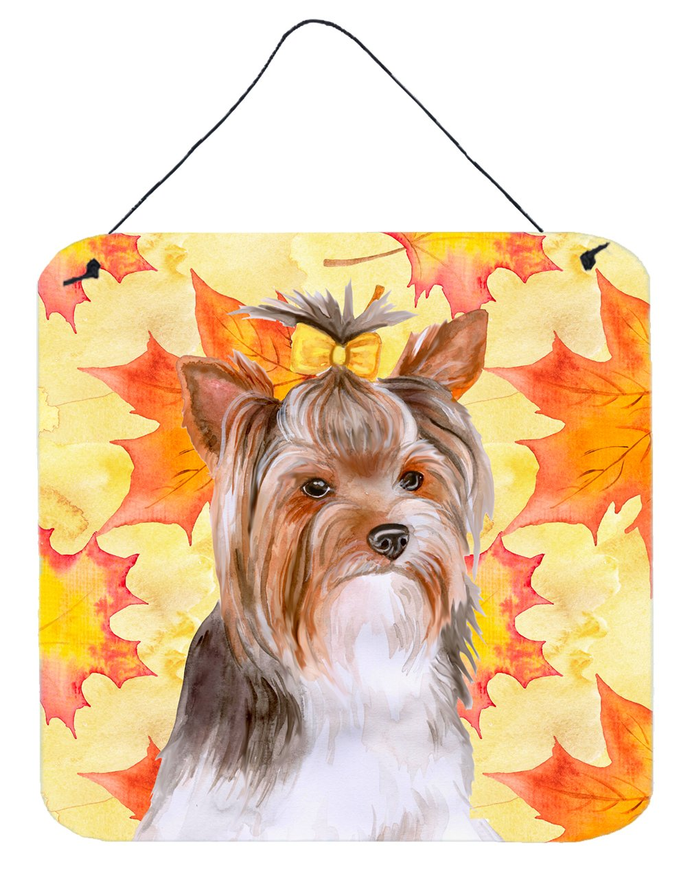 Buy this Yorkshire Terrier #2 Fall Wall or Door Hanging Prints BB9984DS66