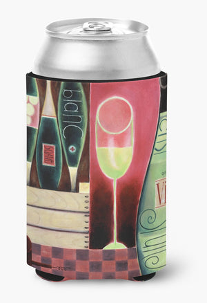 Buy this Wine Collection Blanc by Cathy Brear Can or Bottle Hugger BCBR0068CC