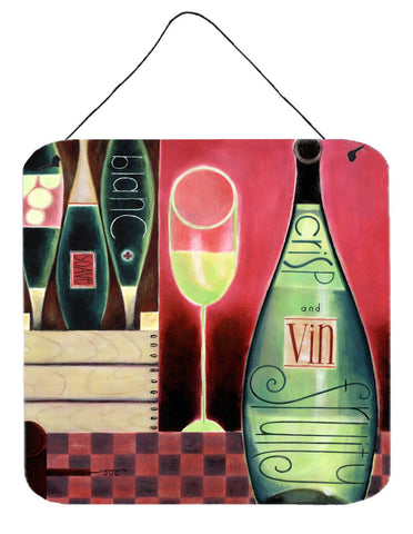 Buy this Wine Collection Blanc by Cathy Brear Wall or Door Hanging Prints BCBR0068DS66