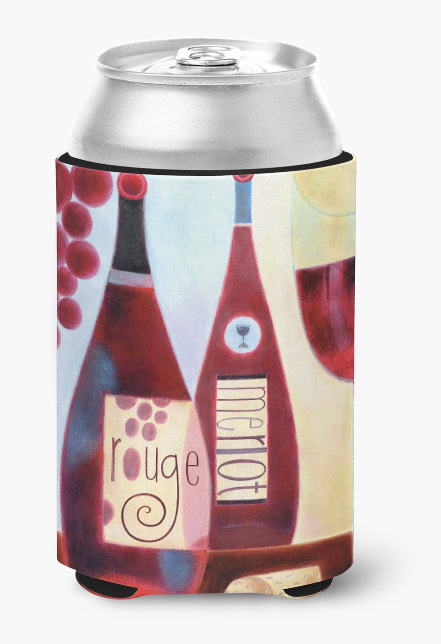 Buy this Wine Collection Rouge by Cathy Brear Can or Bottle Hugger BCBR0069CC