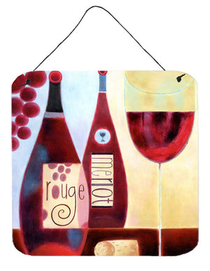 Buy this Wine Collection Rouge by Cathy Brear Wall or Door Hanging Prints BCBR0069DS66