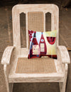 Wine Collection Rouge by Cathy Brear Canvas Decorative Pillow BCBR0069PW1414 - the-store.com