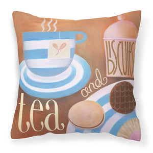 Buy this Kitchen Collection Tea by Cathy Brear Canvas Decorative Pillow