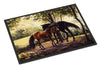 Horses by Daphne Baxter Indoor or Outdoor Mat 24x36 BDBA0055JMAT - the-store.com
