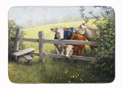 Buy this Cows in a Buttercup Meadow Machine Washable Memory Foam Mat BDBA0103RUG