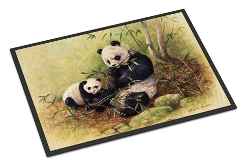 Buy this Panda Bears by Daphne Baxter Indoor or Outdoor Mat 18x27 BDBA0111MAT