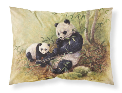 Buy this Panda Bears by Daphne Baxter Fabric Standard Pillowcase BDBA0111PILLOWCASE