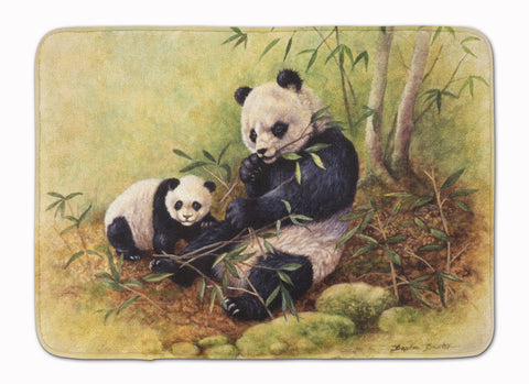 Buy this Panda Bears by Daphne Baxter Machine Washable Memory Foam Mat BDBA0111RUG