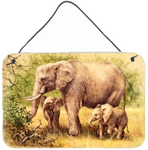 Buy this Elephants by Daphne Baxter Wall or Door Hanging Prints