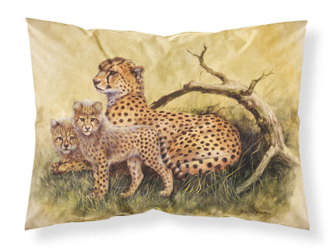 Buy this Cheetahs by Daphne Baxter Fabric Standard Pillowcase BDBA0113PILLOWCASE