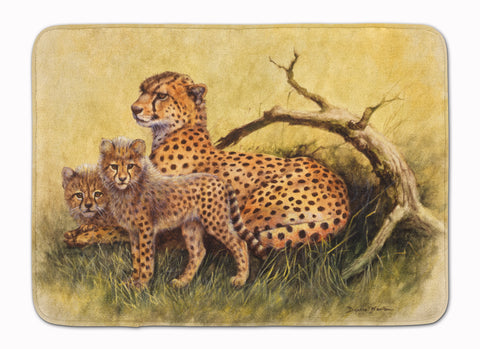 Buy this Cheetahs by Daphne Baxter Machine Washable Memory Foam Mat BDBA0113RUG