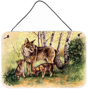Buy this Wolf Wolves by Daphne Baxter Wall or Door Hanging Prints