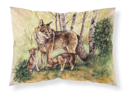 Buy this Wolf Wolves by Daphne Baxter Fabric Standard Pillowcase BDBA0115PILLOWCASE