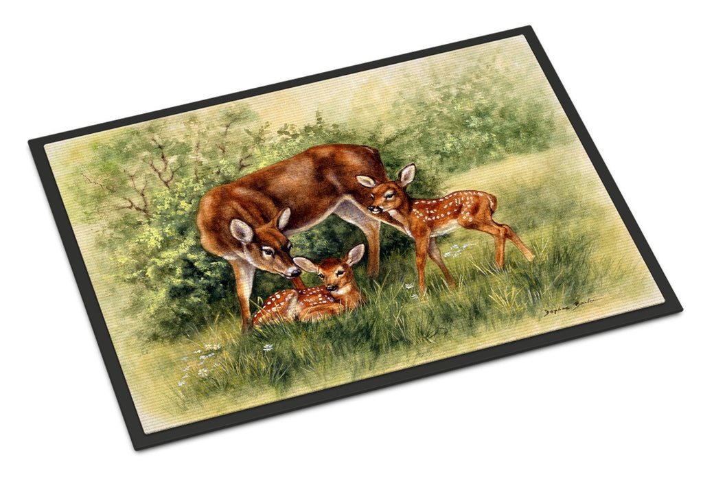 Buy this Deer by Daphne Baxter Indoor or Outdoor Mat 18x27 BDBA0116MAT