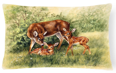 Buy this Deer by Daphne Baxter Fabric Decorative Pillow BDBA0116PW1216