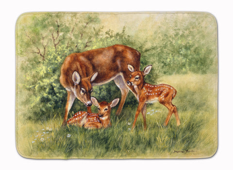Buy this Deer by Daphne Baxter Machine Washable Memory Foam Mat BDBA0116RUG
