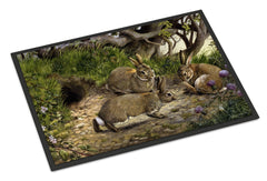 Buy this Rabbits and the Rabbit Hole Indoor or Outdoor Mat 24x36 BDBA0136JMAT