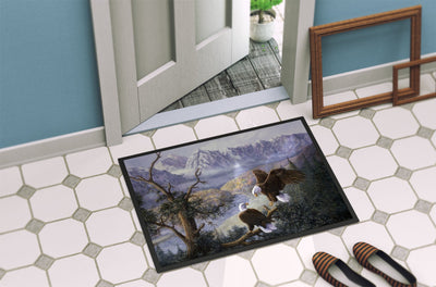 Eagles by Daphne Baxter Indoor or Outdoor Mat 24x36 BDBA0153JMAT