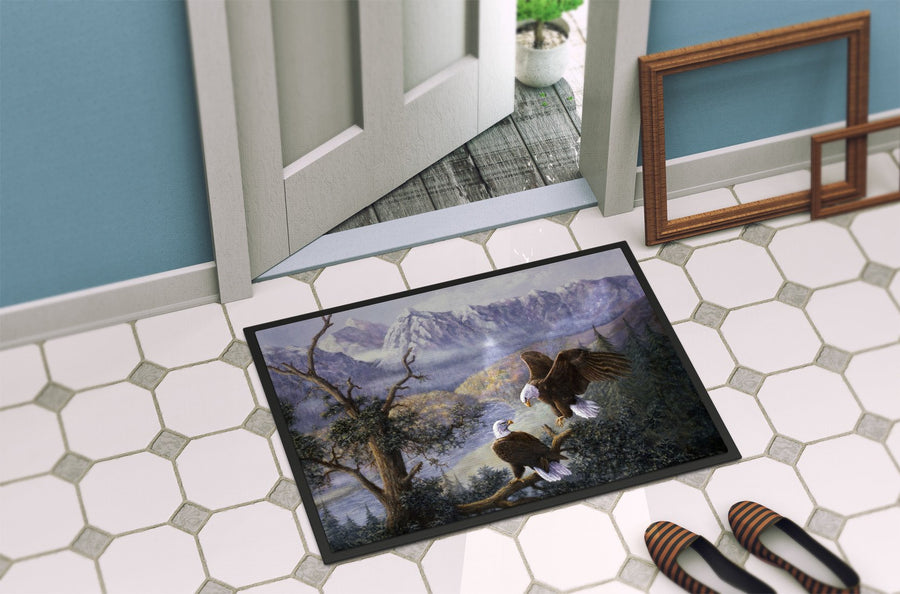 Buy this Eagles by Daphne Baxter Indoor or Outdoor Mat 24x36 BDBA0153JMAT