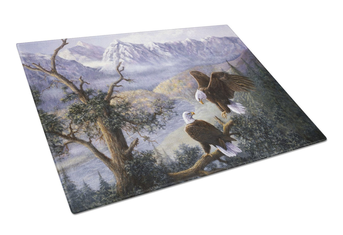 Buy this Eagles by Daphne Baxter Glass Cutting Board Large BDBA0153LCB