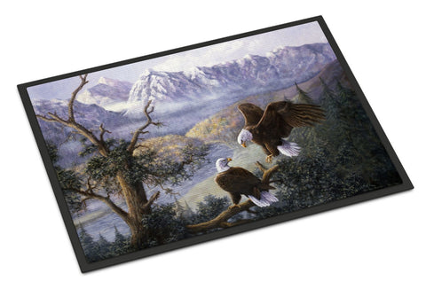Buy this Eagles by Daphne Baxter Indoor or Outdoor Mat 18x27 BDBA0153MAT