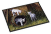 Buy this Goats by Daphne Baxter Indoor or Outdoor Mat 24x36 BDBA0232JMAT