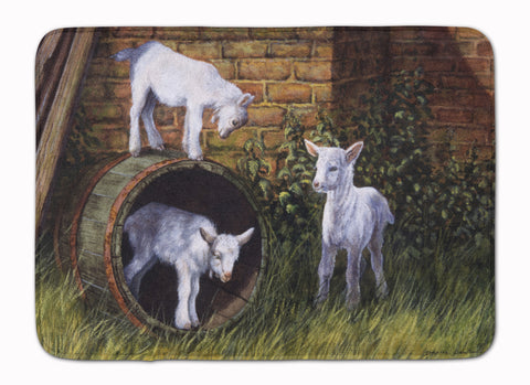 Buy this Goats by Daphne Baxter Machine Washable Memory Foam Mat BDBA0232RUG
