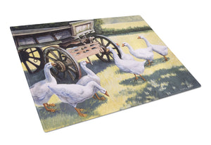 Buy this Geese by Daphne Baxter Glass Cutting Board Large BDBA0234LCB