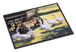 Buy this Geese by Daphne Baxter Indoor or Outdoor Mat 18x27 BDBA0234MAT