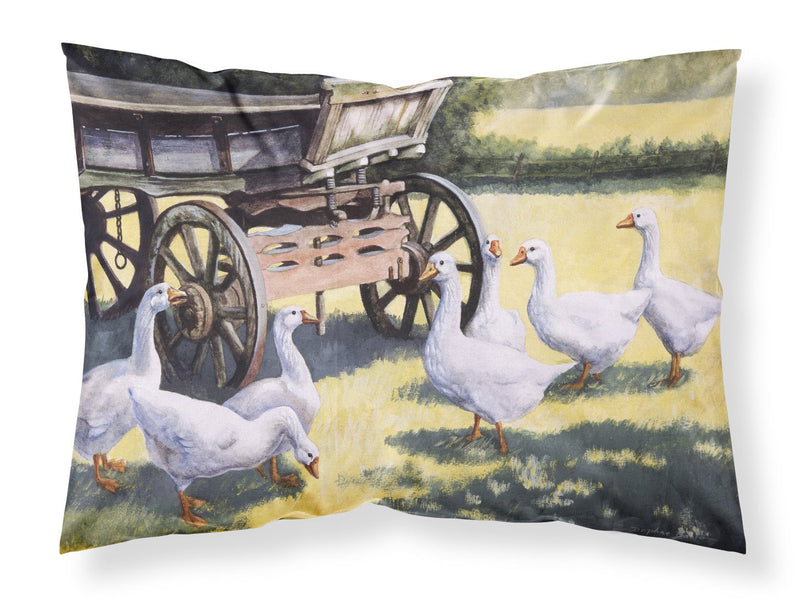 Buy this Geese by Daphne Baxter Fabric Standard Pillowcase BDBA0234PILLOWCASE