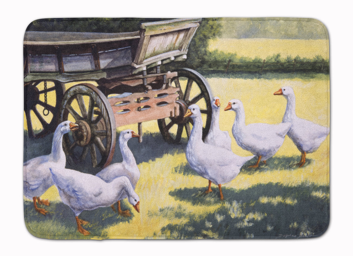 Buy this Geese by Daphne Baxter Machine Washable Memory Foam Mat BDBA0234RUG
