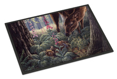 Buy this Doe and Fawn Deer Indoor or Outdoor Mat 24x36 BDBA0259JMAT