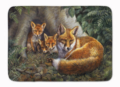 Buy this A Family of Foxes at Home Machine Washable Memory Foam Mat BDBA0283RUG