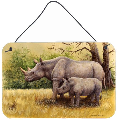 Buy this Rhinoceros by Daphne Baxter Wall or Door Hanging Prints