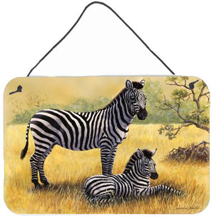 Buy this Zebras by Daphne Baxter Wall or Door Hanging Prints