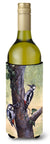 Buy this Woodpeckers by Daphne Baxter Wine Bottle Beverage Insulator Hugger BDBA0335LITERK