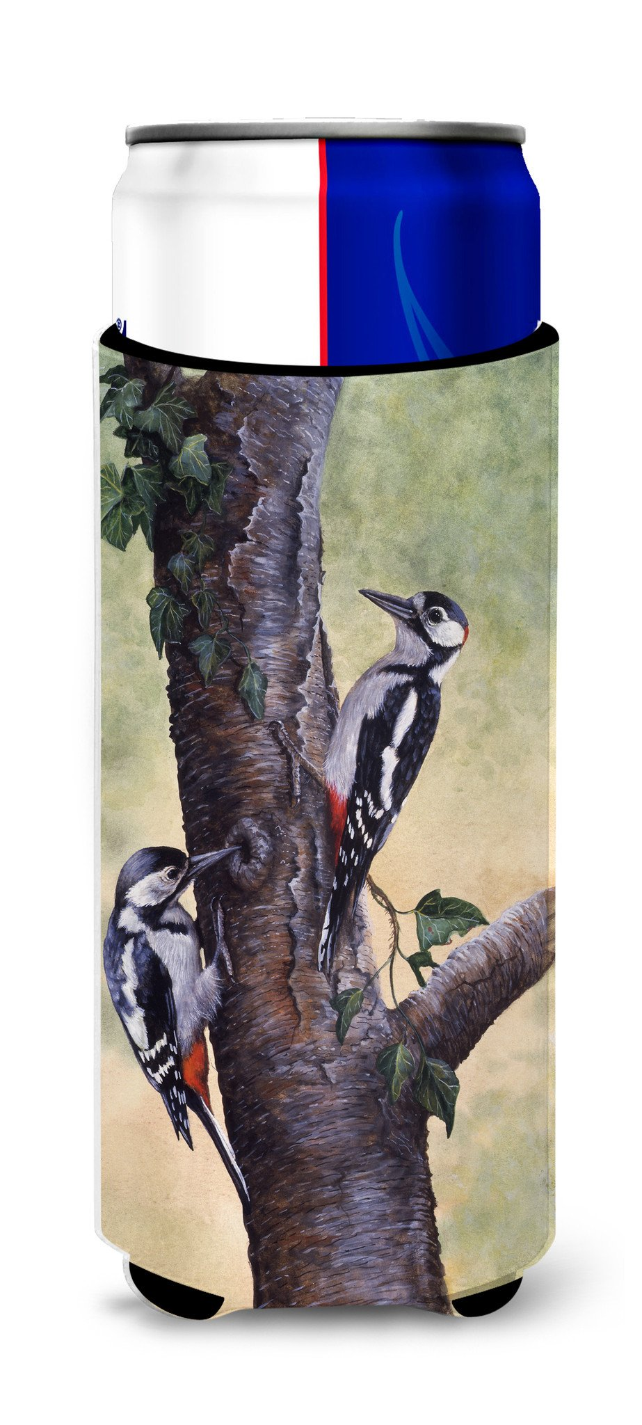 Buy this Woodpeckers by Daphne Baxter Ultra Beverage Insulators for slim cans BDBA0335MUK