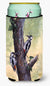 Buy this Woodpeckers by Daphne Baxter Tall Boy Beverage Insulator Hugger BDBA0335TBC