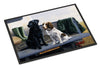 On The Tailgate Labrador and Springer Spaniel Indoor or Outdoor Mat 24x36 BDBA0341JMAT - the-store.com