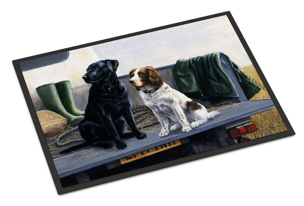 Buy this On The Tailgate Labrador and Springer Spaniel Indoor or Outdoor Mat 18x27 BDBA0341MAT