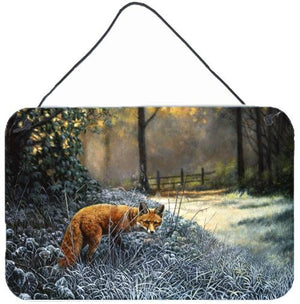 Buy this Fox on the Hunt Wall or Door Hanging Prints
