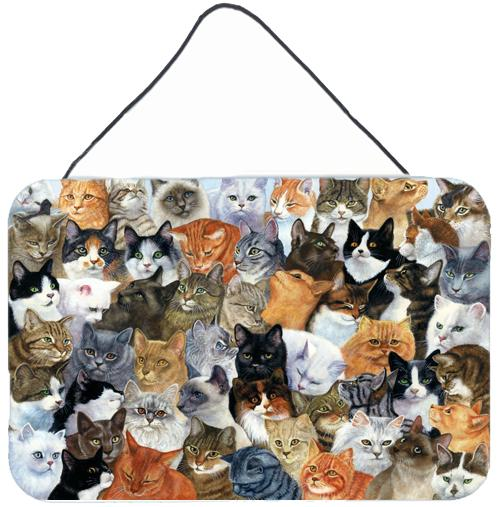Cats Galore Wall or Door Hanging Prints by Caroline's Treasures