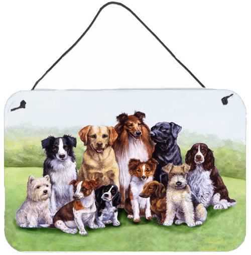 Buy this Springtime Dogs Wall or Door Hanging Prints