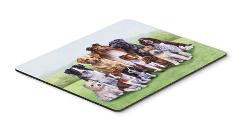Buy this Springtime Dogs Mouse Pad, Hot Pad or Trivet BDBA316BMP