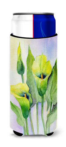 Buy this Lillies by Maureen Bonfield Ultra Beverage Insulators for slim cans BMBO0622MUK