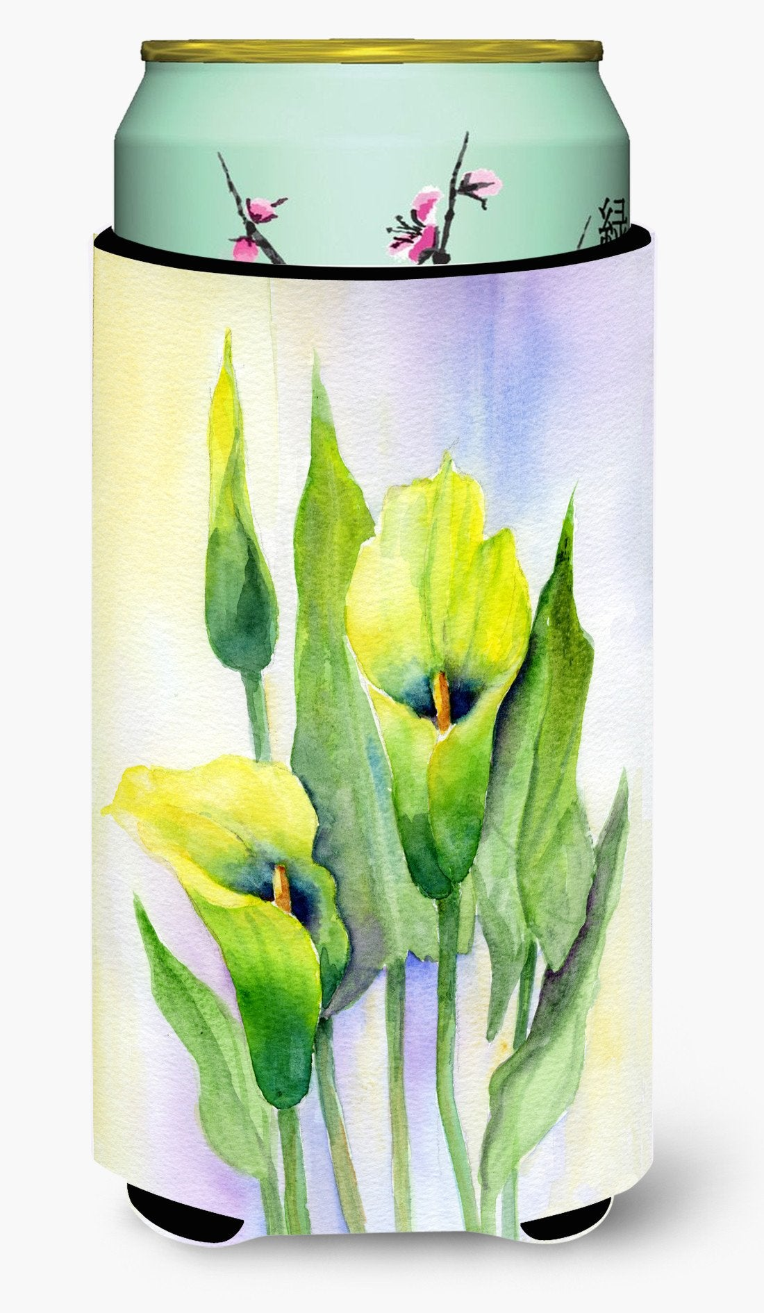 Lillies by Maureen Bonfield Tall Boy Beverage Insulator Hugger BMBO0622TBC by Caroline's Treasures