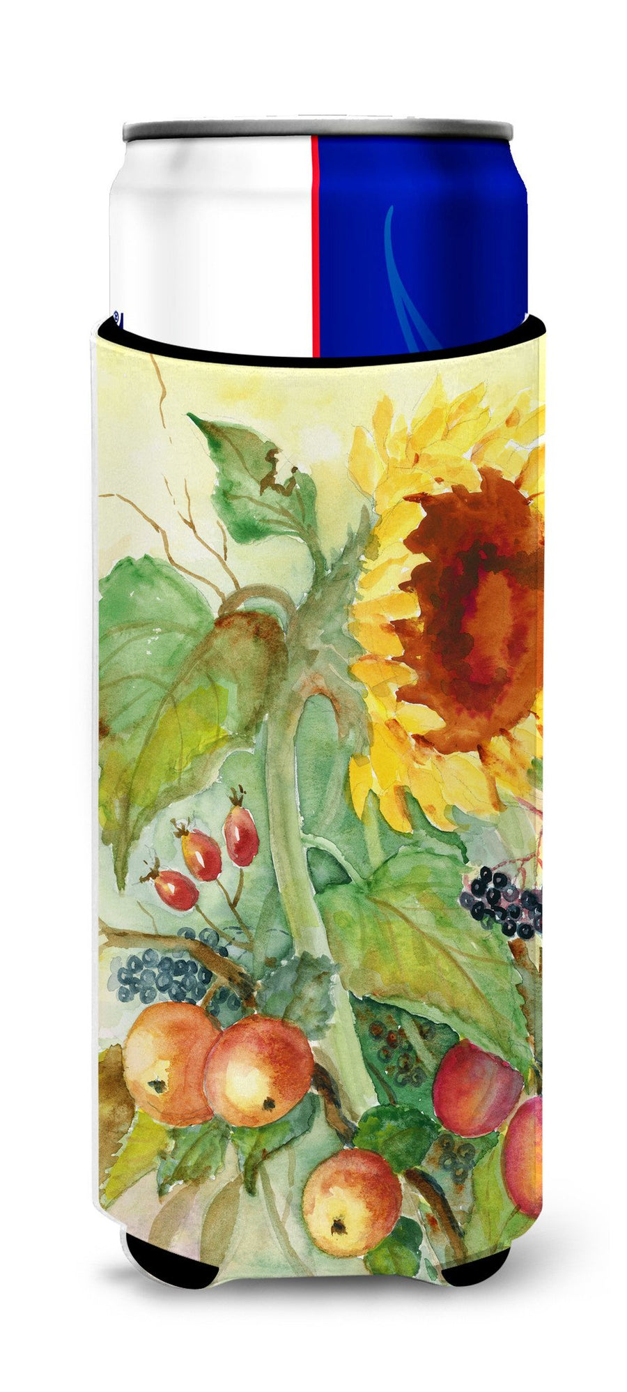 Autumn Flowers II by Maureen Bonfield Ultra Beverage Insulators for slim cans BMBO0699MUK - the-store.com